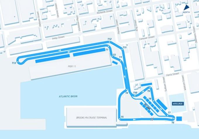 Formula E – Presentato il circuito cittadino di New York: si snoderà per le vie di Brooklyn con vista sulla Statua della Libertà