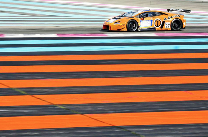 GT Open: La Lamborghini dell'Orange1 Team Lazarus di Biagi-Crestani estende la propria leadership in Austria