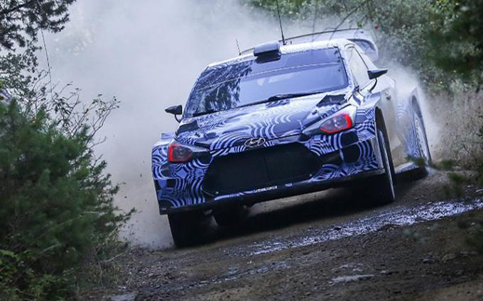 WRC – Hyundai: quattro giorni di test in Spagna con la New Generation i20 WRC Plus 2017