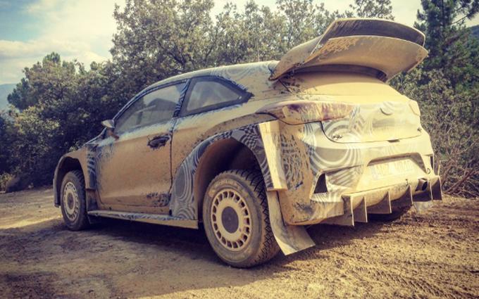WRC – Hyundai: la New Generation i20 WRC Plus 2017 prova un nuovo diffusore
