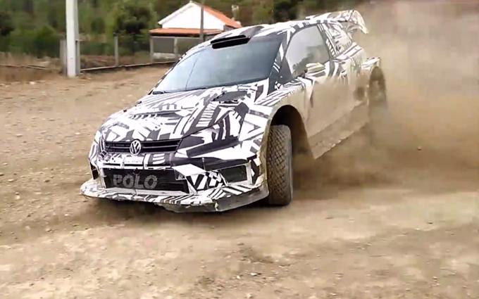 WRC – Volkswagen: test in Portogallo per la Polo R WRC 2017 con Ogier, Latvala e Mikkelsen