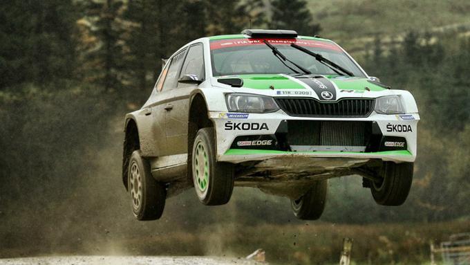 WRC2 – Rally del Galles, PS8: Lappi chiude al comando la prima giornata