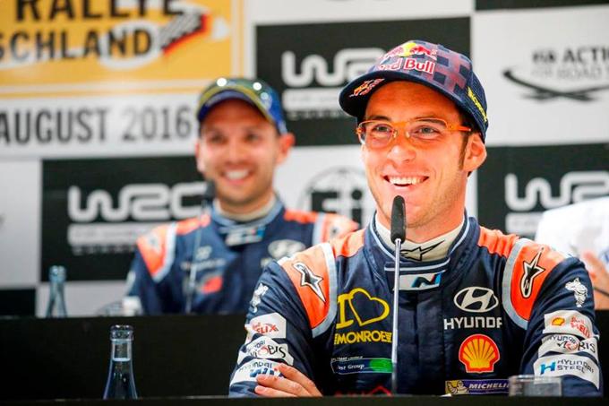 WRC – Thierry Neuville rinnova con la Hyundai fino al 2018