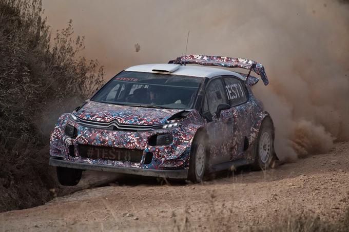 """WRC – Citroen prosegue gli sviluppi in Spagna con il """"#TEST8"""""""