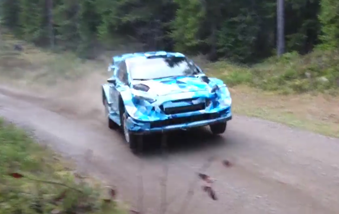 WRC – La Ford Fiesta RS 2017 prosegue i test in Finlandia con Ott Tänak
