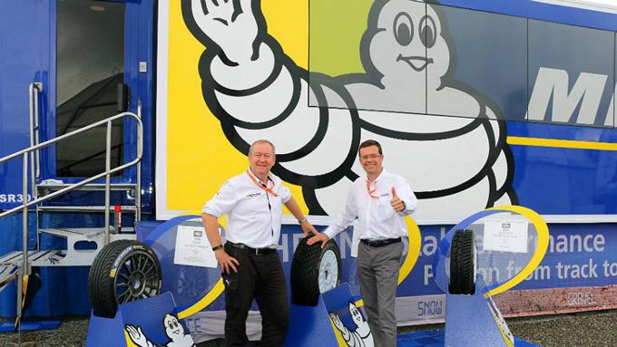 WRC – Michelin rinnova fino al 2019