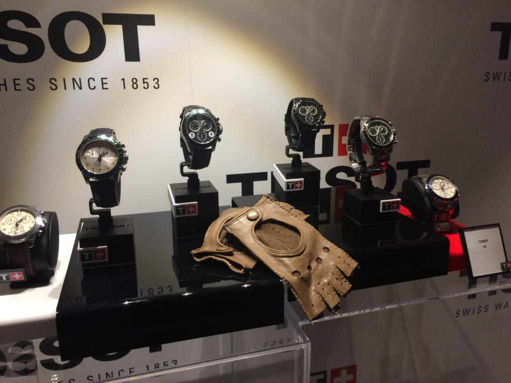 Tissot presenta la nuova collezione V8 inspirata al mondo delle corse