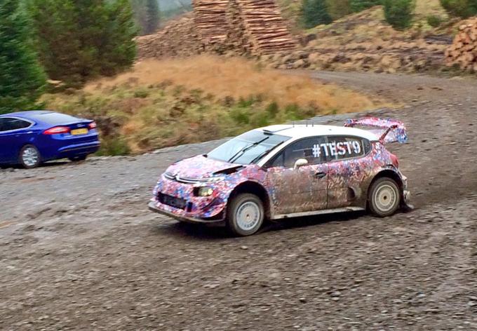 WRC – Citroen: ultimo test prima dell'omologazione FIA