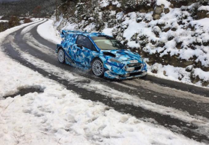 WRC – M-Sport prova sulla neve in Francia con Ott Tanak