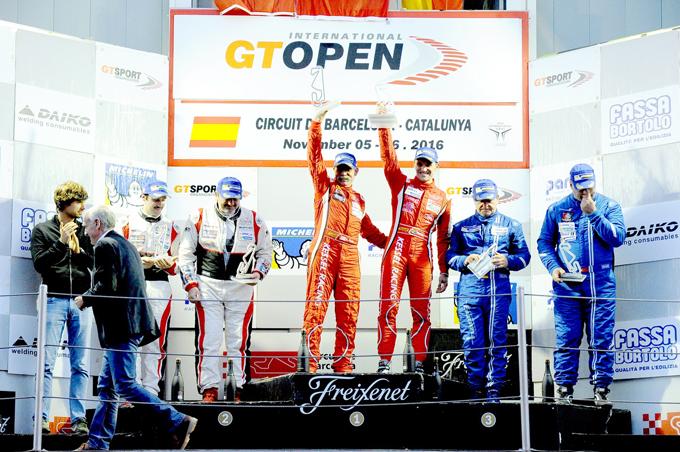 Rientro vincente per Kessel Racing nel round finale del GT Open a Barcellona
