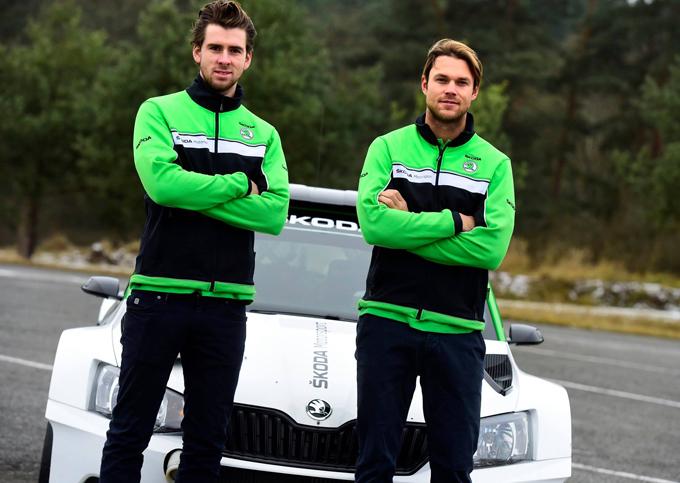 WRC – Mikkelsen a Monte Carlo con la Skoda Fabia R5 nel WRC2