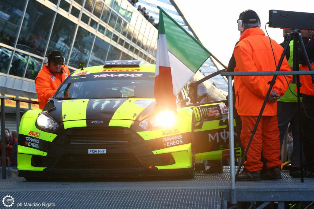 Monza Rally Show 2016: Dani Sordo regala la prima giornata a Valentino Rossi. Bene Bonanomi in 3° posizione