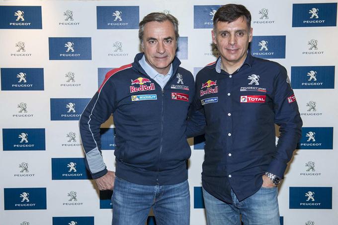 Dakar 2017, Peugeot: focus su Carlos Sainz e Lucas Cruz