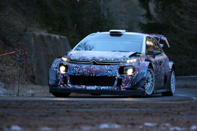WRC – Citroen: incidente per Meeke durante i test pre Monte Carlo. Illesi lui e Nagle