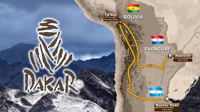 Dakar 2017, anteprima e percorsi della 38^ edizione: si parte il 2 gennaio da Asunciòn