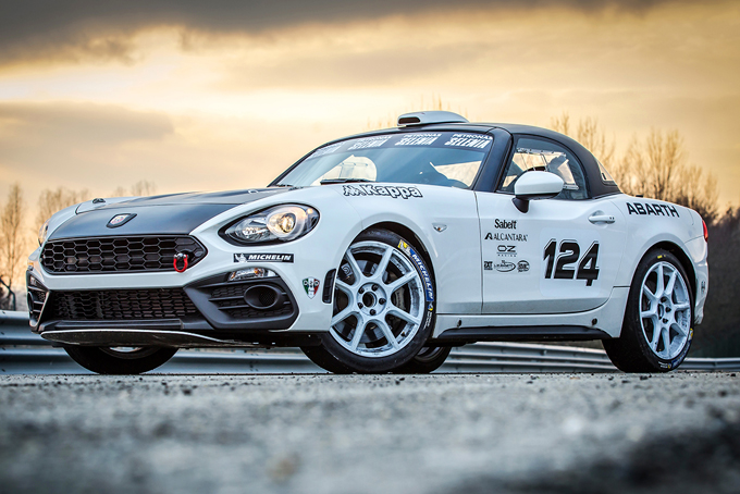 Trofeo Abarth 124 Rally: confermato il calendario 2017