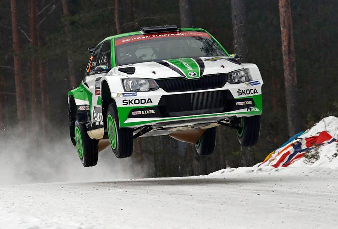 WRC2 – Rally di Svezia, Skoda: seconda vittoria stagionale con Pontus Tidemand