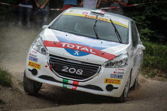 CIR – Peugeot: Pollara e Princiotto sulla 208 R2 dello Junior Team