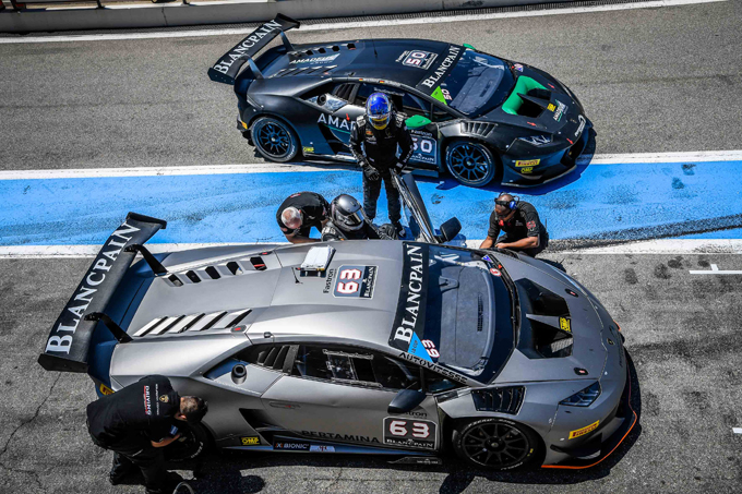 Lamborghini: fine della partnership con Blancpain