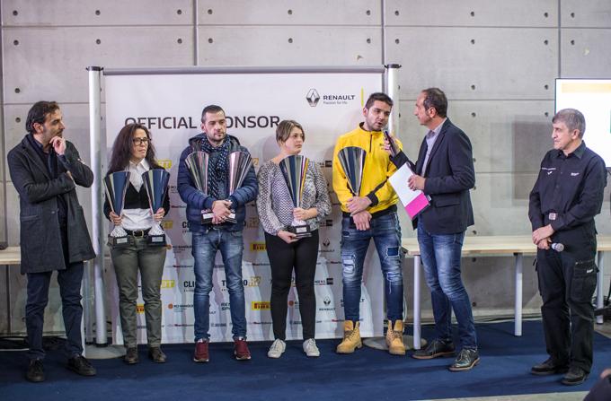 Renault, Trofei Rally: premiazione dei campioni 2016 al Salone Automotoracing di Torino