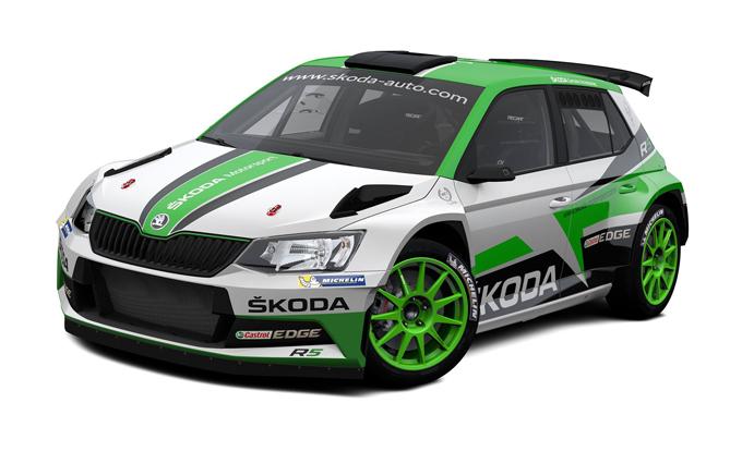 WRC2 – Skoda: ecco la Fabia R5 con la livrea 2017