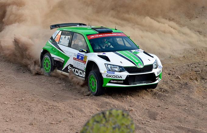 WRC2 – Rally del Messico, Skoda: terzo successo stagionale consecutivo per la Fabia R5