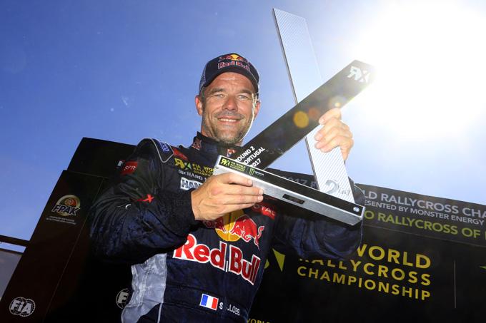 Mondiale Rallycross, Peugeot: secondo posto per Loeb in Portogallo