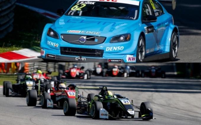 Weekend WTCC a Monza, un sabato di grandi emozioni con F3 e F4 Abarth