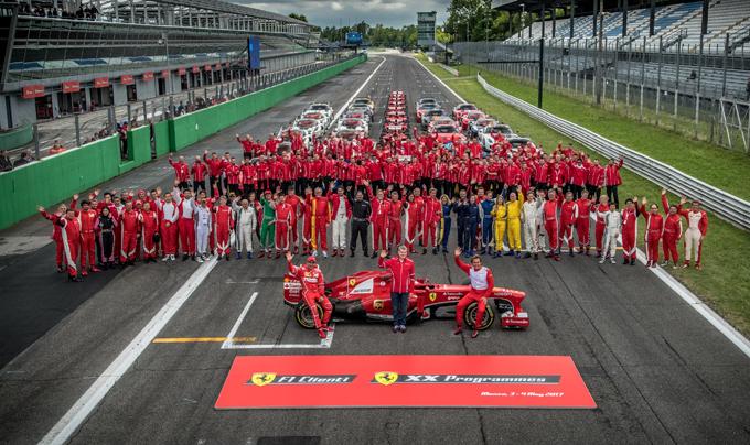 Ferrari – XX Programmes e F1 Clienti: presenti 41 vetture a Monza