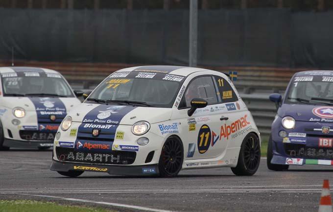 Trofeo Abarth Selenia e Italian F4 – Adria: lo Scorpione protagonista nel weekend