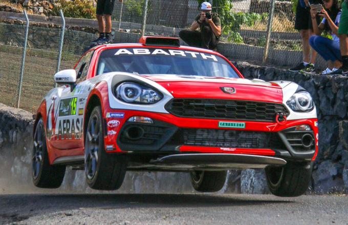 Abarth – Rally Villa de Adeje: settimana intensa per il Team SMC Junior Motorsport