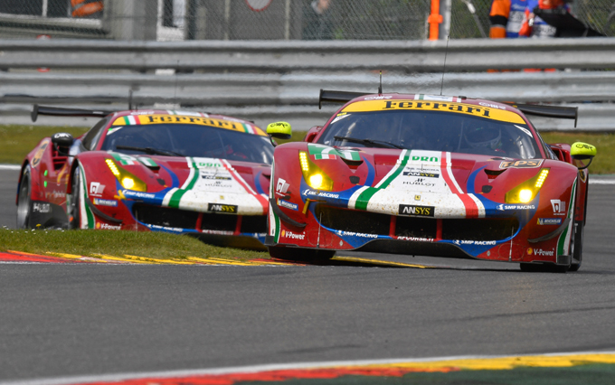 WEC – 6 Ore di Spa, Ferrari: supremazia in classe GTE Pro