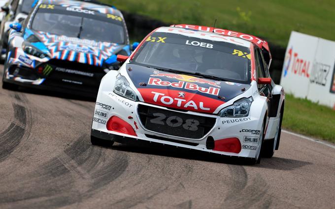 FIA WRX – Peugeot: quarto posto per Loeb a Lydden Hill