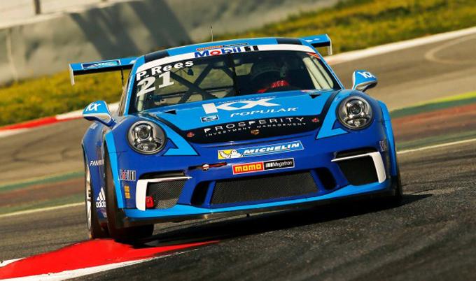 Porsche Supercup – Barcellona: Paul Rees al via col team Megatron
