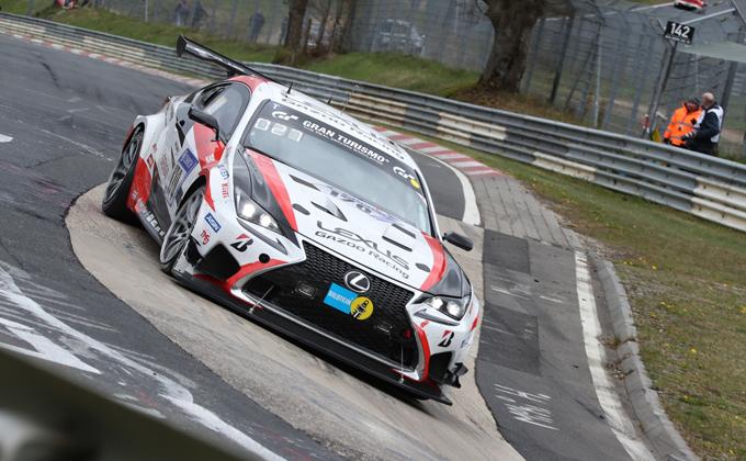 24 Ore del Nürburgring – Lexus ai nastri di partenza dell'edizione 45