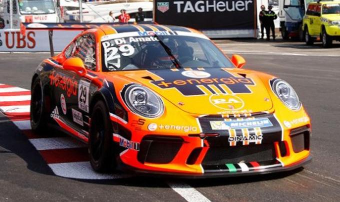 Porsche Supercup – Monte Carlo: Dinamic Motorsport al sesto posto con Di Amato