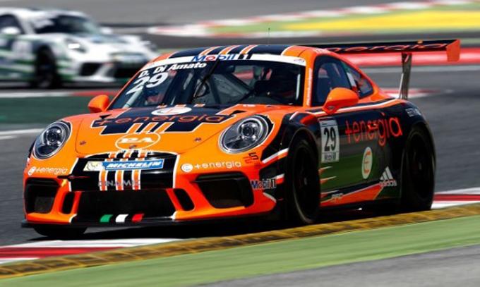Porsche Supercup – Barcellona: primi punti stagionali per Dinamic Motorsport