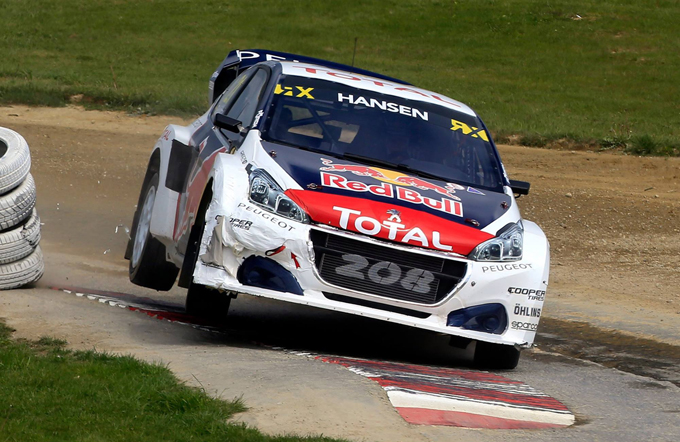 FIA WRX – Peugeot: il Team Hansen verso il round britannico di Wootton