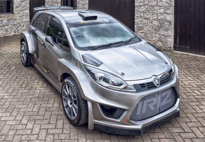 WRC – Proton prepara il ritorno nel 2018 con la nuova Iriz R5