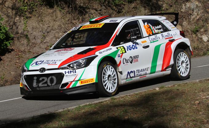 WRC2 – Rally del Portogallo: Andolfi al via con la Hyundai i20 R5