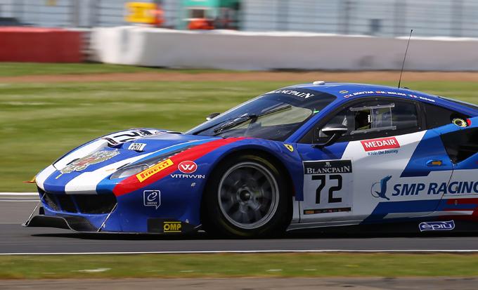 Blancpain GT – Endurance Cup, Silverstone: quarto posto per l'equipaggio di Rigon