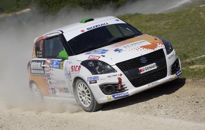 Suzuki Rally Trophy – Rally Adriatico: svetta Strabello, suo il round fra gli sterrati marchigiani