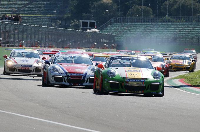 Porsche Carrera Cup Italia – Imola: Pera e Fulgenzi si spartiscono il primo round stagionale