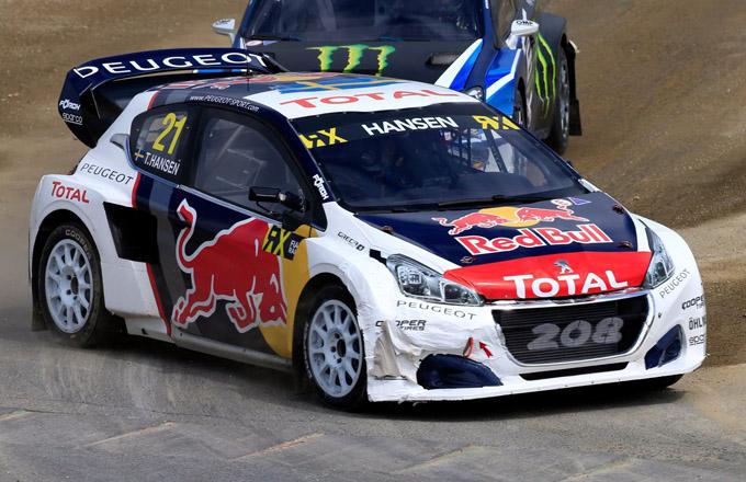 FIA WRX – Peugeot: una foratura nega la vittoria a Timmy Hansen