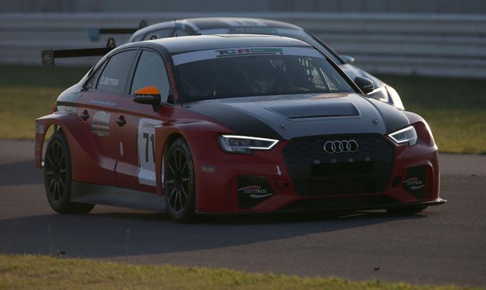 TCR – Bettera con l'Audi RS 3 LMS di Pit Lane Competizioni al Salzburgring