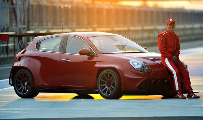 TCR – L'Unicorse Team esordirà con l'Alfa Romeo Giulietta all'Hungaroring