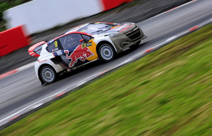 FIA WRX – Hell, Peugeot: altro podio per Loeb, il quarto stagionale per il Team Hansen