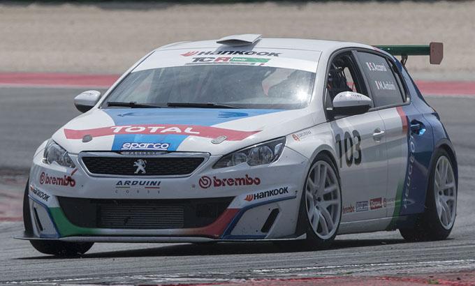 TCR Italy – Misano, Peugeot: egemonia nella classe TCT con Arduini e Ricci