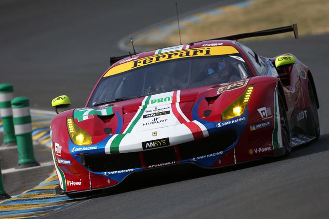 """24 Ore di Le Mans – Rigon: """"La 488 GTE è stata fantastica. Peccato per le forature"""""""
