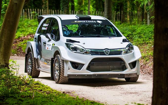 WRC – Proton: la Iriz R5 muove i primi passi a Goodwood